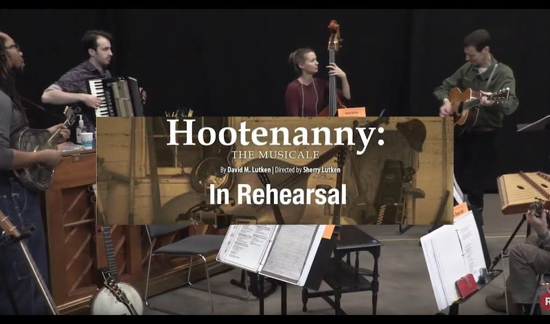 First Rehearsal - <em>Hootenanny: The Musicale</em>