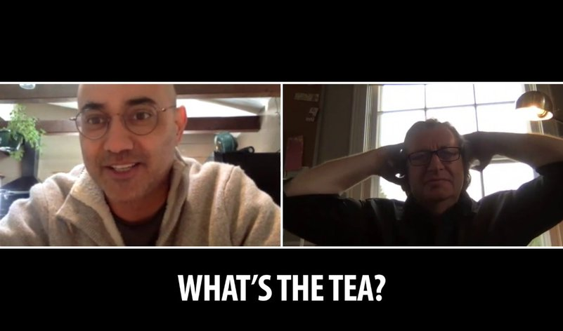 What's the Tea? with Ayad Akhtar