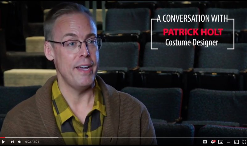 A Conversation with Patrick Holt, Costume Designer