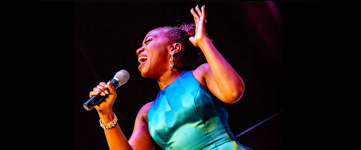 <em>First Lady Of Song:<br> Alexis J Roston Sings Ella Fitzgerald</em>