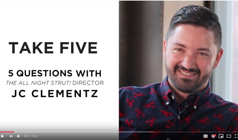 Take Five with JC Clementz