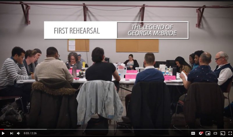 <em>The Legend of Georgia McBride</em> - First Rehearsal