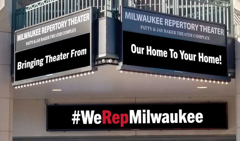 Milwaukee Rep AT HOME
